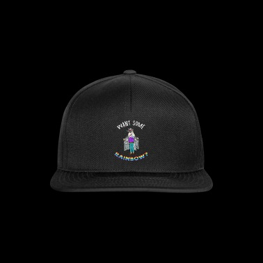 UniCorn Einhorn Dealer Drugs Gras M coka deal neu - Snapback Cap