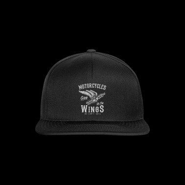 Motorcycle Shirt · Superbike · Biker · Wings - Snapback Cap