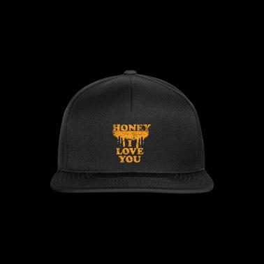 Honey bees I love you bee - Snapback Cap