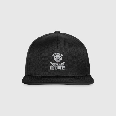 Animal, Pet Lover, Manatee elsker - Snapback-caps