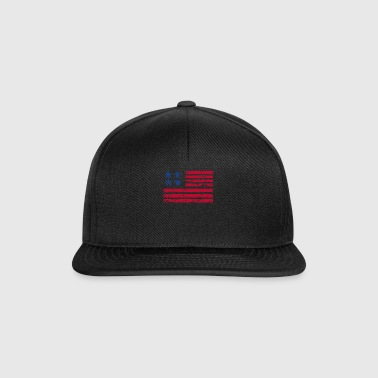 Stars and Stripes - Snapback Cap