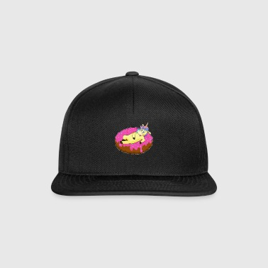 Unicornio en donut cool air mat kawaii summer - Gorra Snapback