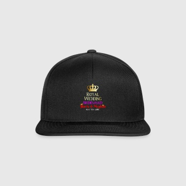 Boda Real Harry & Meghan - Gorra Snapback