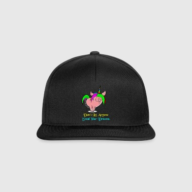 Transformation Pig to Unicorn Everything is Possible - Snapback cap