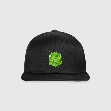 Frog water colors prince frog prince fairy tale - Snapback Cap