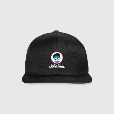 Fußball Fahne Flag Nation Football Argentinia new - Snapback Cap