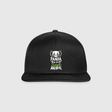 Panda er min Ånd Animal Cute T-Shirt - Snapback Cap