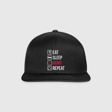 Spis Sleep Hunt Repeat - Snapback-caps