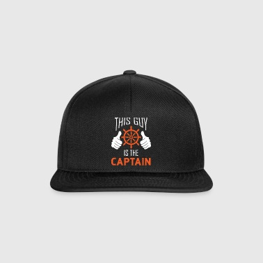 This Guy is the Captain - Gift Captain Sailing - Snapback Cap