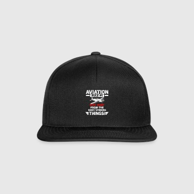 Règle d'aviation 1 - Casquette snapback