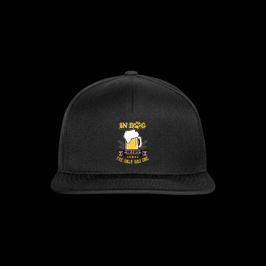 Dog and Beers - Snapback Cap