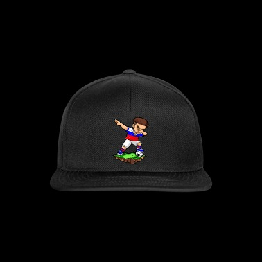 Dabbing Football Player - Rusland - Soccer - Snapback Cap