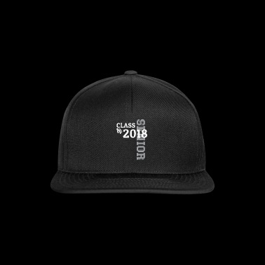 Senior Class Of 2018 Graduate Tee Shirt Gift - Snapback Cap