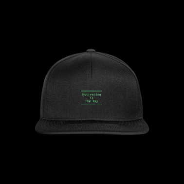 Motivation and success in work, school and university - Snapback Cap