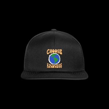 Wähle Güte Planet Erde Spread And Stop Bully - Snapback Cap