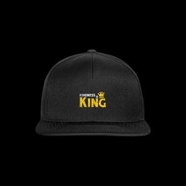 Kindness Is King Crown Anti-Bullying Spread Love - Snapback Cap
