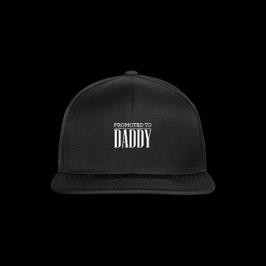 Cute Promoted to Daddy Tshirt - Snapback Cap