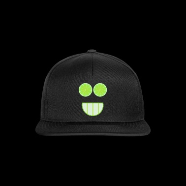 Lime face gift idea - Snapback Cap