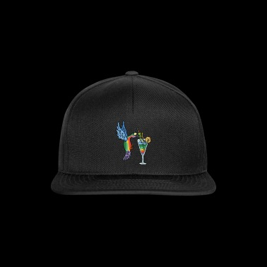 Fly bird and cocktail - Snapback Cap