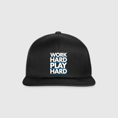 Work Hard - Snapback Cap