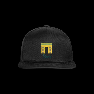 cute paris logo, gift idea - Snapback Cap