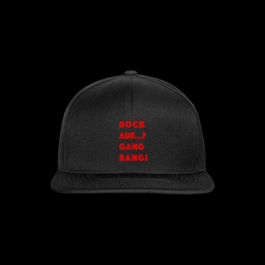 Cool gangbang flirtano i detti in rosso - Snapback Cap