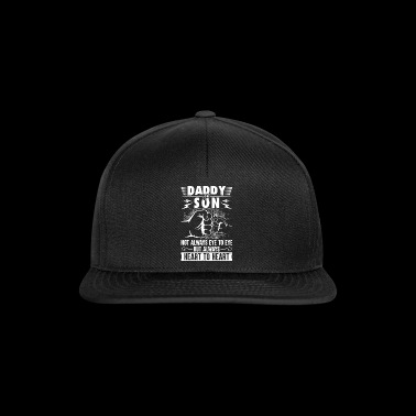 Daddy and son always heart to heart - Snapback Cap