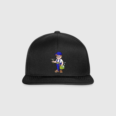 Building cleaner Window cleaner - Snapback Cap