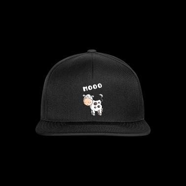 Little Mooo Cow - Cows - Comic - Snapback Cap