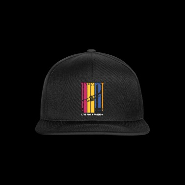 live for a passion trumpet - Snapback Cap