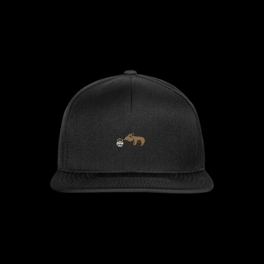 sweet brown bear, nice children's gift - Snapback Cap