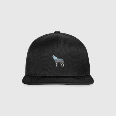 Wolf Winter Mountains Lumi Luonto Lahjaidea Cool - Snapback Cap