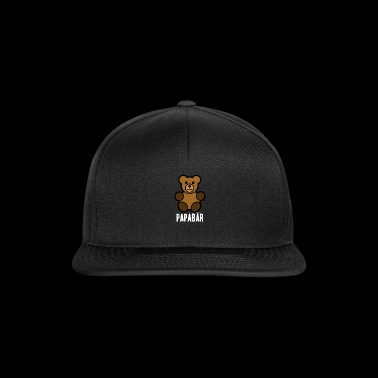Papabär Father's Day Gift Idea Bear Animal - Snapback Cap