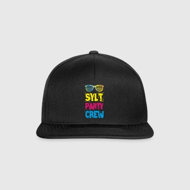 Camiseta Sylt Party Crew Club Holiday Fun 2018 - Gorra Snapback