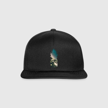 Pineapple paradise beach palm trees - Gorra Snapback