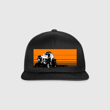 Sunset traktor orange - Snapback Cap