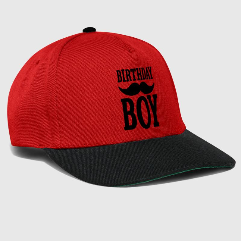 Birthday Boy Hipster - Snapback Cap