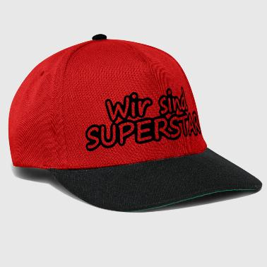 Superstar Wir sind Superstar - Snapback Cap