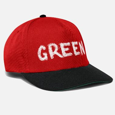 Green green or? - Snapback Cap