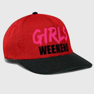 weekend weekend girls trip holiday fun travel f - Snapback Cap