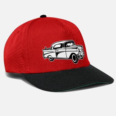 Chevy Chevy Bel Air / Oldtimer 01_black white - Snapback Cap