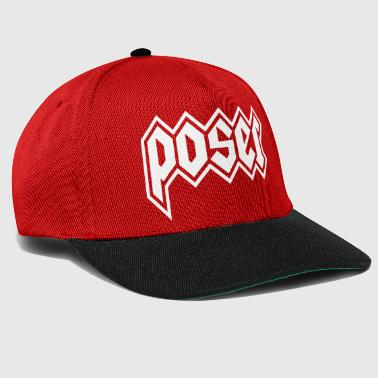 heavy metal pose - Snapback Cap