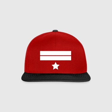 Stripes & Star - Snapback Cap