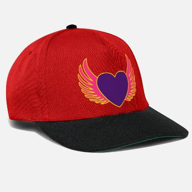 Heart With Wings Heart with wings - Snapback Cap