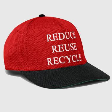 REDUCE, REMOVE, RECYCLE - Snapback Cap
