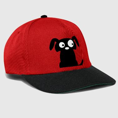 Cartoon dog kink ear - Snapback Cap
