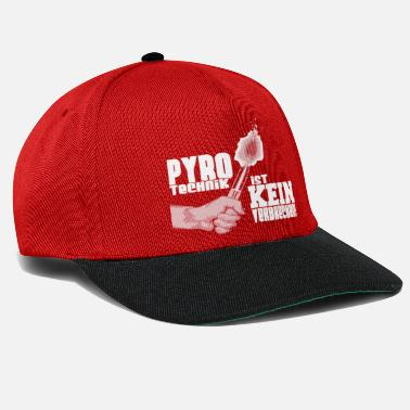 Pyrotechnics Pyrotechnics is not a crime - Snapback Cap