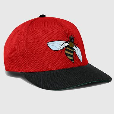 The honey bee starts to dive in the dive - Snapback Cap