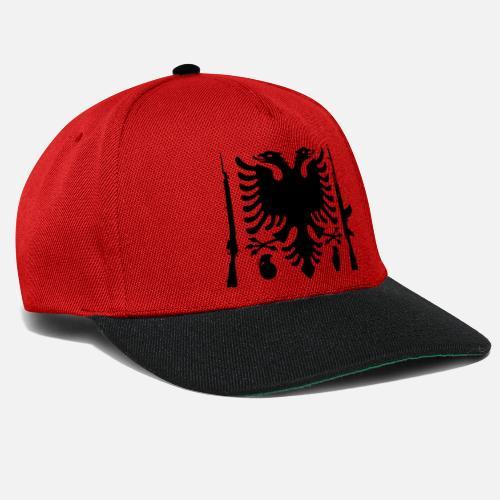 1485e352198 Flag Albania Ak 47 Grenada Snapback Cap