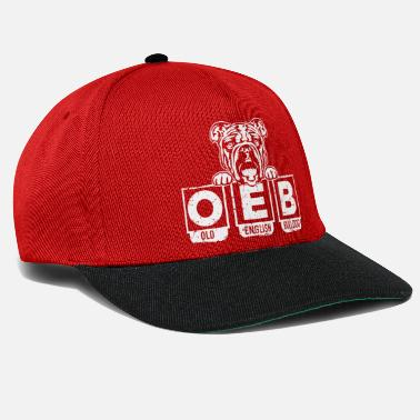 OEB Old English Bulldog presentbulldogg - Snapback keps